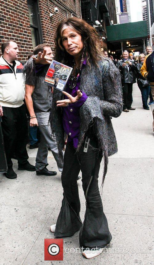 Steven Tyler The Late Show