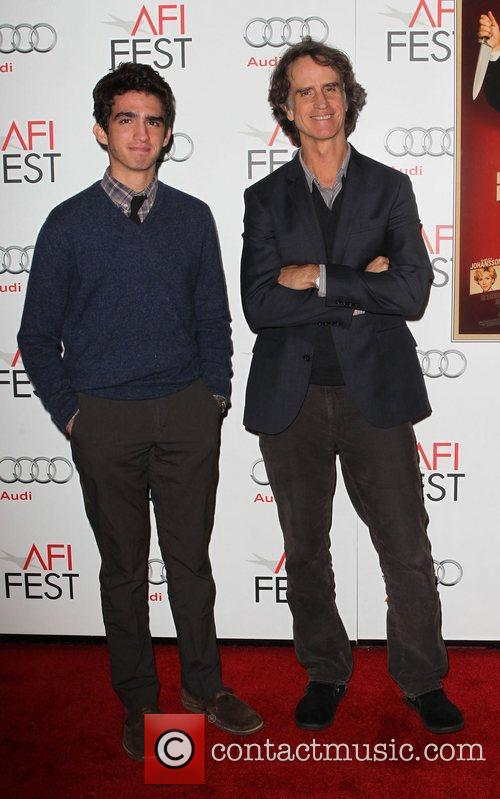 Jay Roach and son Jackson