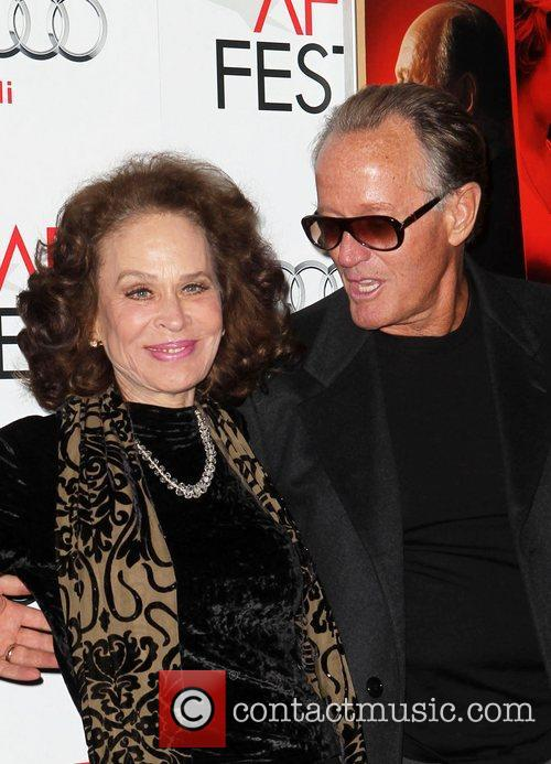 Karen Black, Peter Fonda and Grauman's Chinese Theatre