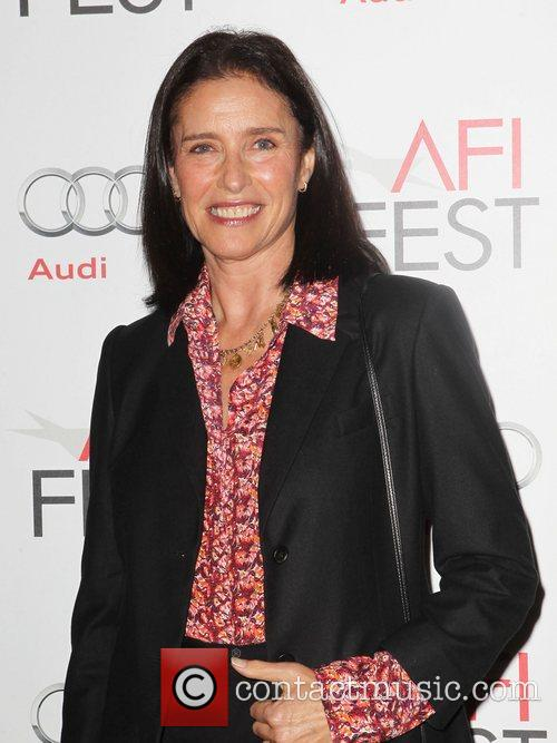Mimi Rogers and Grauman's Chinese Theatre 1