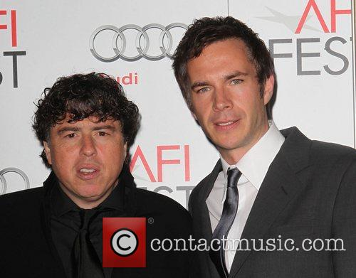Sacha Gervasi, James D'Arcy and Grauman's Chinese Theatre 6