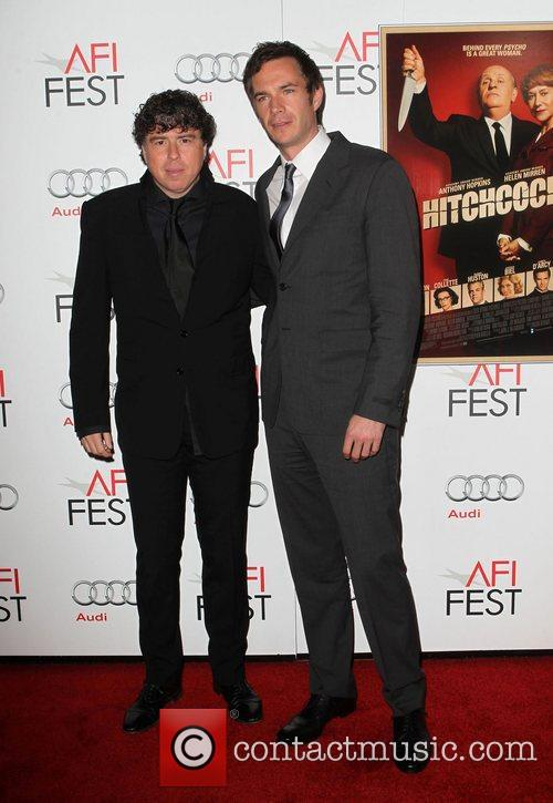 Sacha Gervasi, James D'arcy and Grauman's Chinese Theatre 1