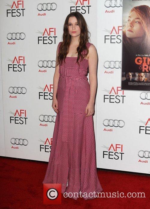 Alice Englert and Grauman's Chinese Theatre 2
