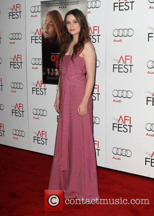 Alice Englert and Grauman's Chinese Theatre 3