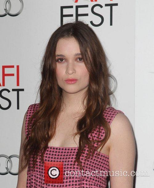 Alice Englert and Grauman's Chinese Theatre 4