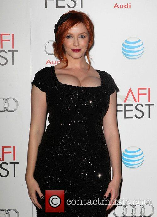 Christina Hendricks and Grauman's Chinese Theatre 5