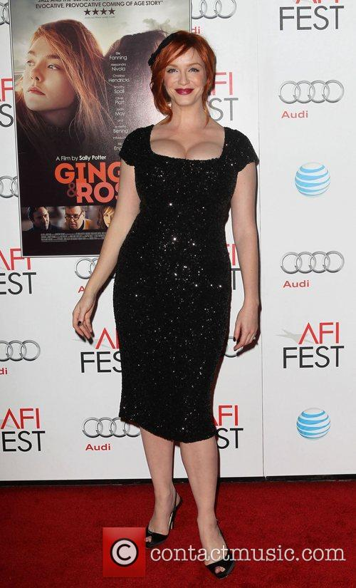 Christina Hendricks and Grauman's Chinese Theatre 3