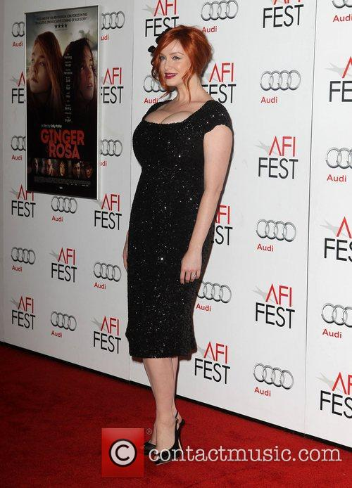 Christina Hendricks and Grauman's Chinese Theatre 6