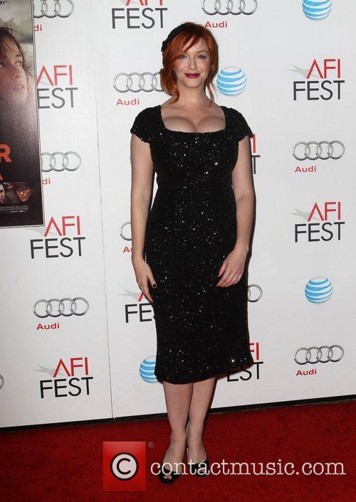 Christina Hendricks and Grauman's Chinese Theatre 10