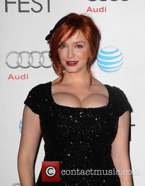 Christina Hendricks and Grauman's Chinese Theatre 11