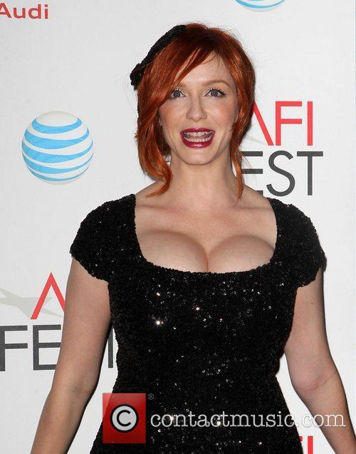 Christina Hendricks and Grauman's Chinese Theatre 1