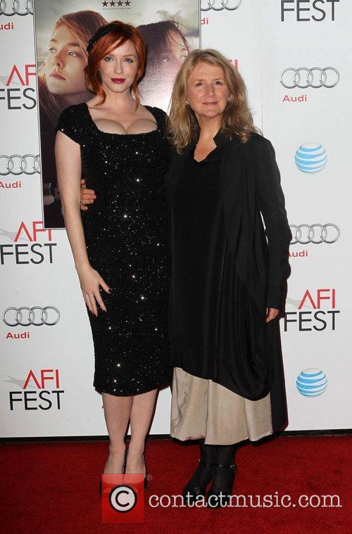 Christina Hendricks, Sally Potter and Grauman's Chinese Theatre 2
