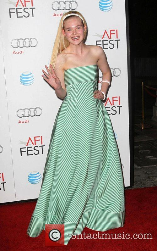 Elle Fanning and Grauman's Chinese Theatre 8