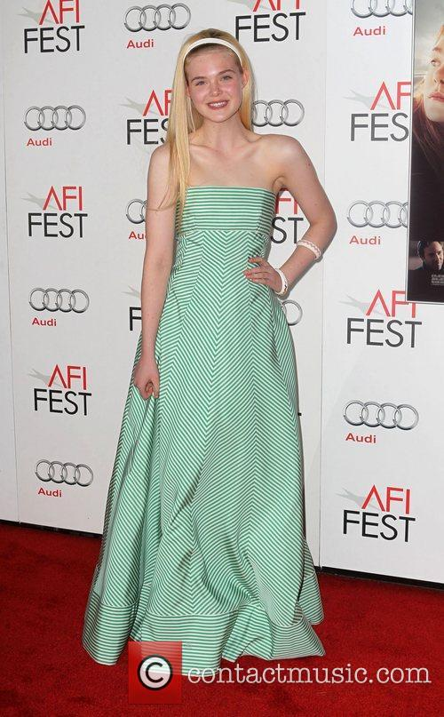 Elle Fanning and Grauman's Chinese Theatre 11