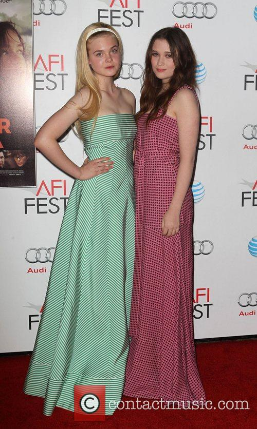 Elle Fanning, Alice Englert and Grauman's Chinese Theatre 7