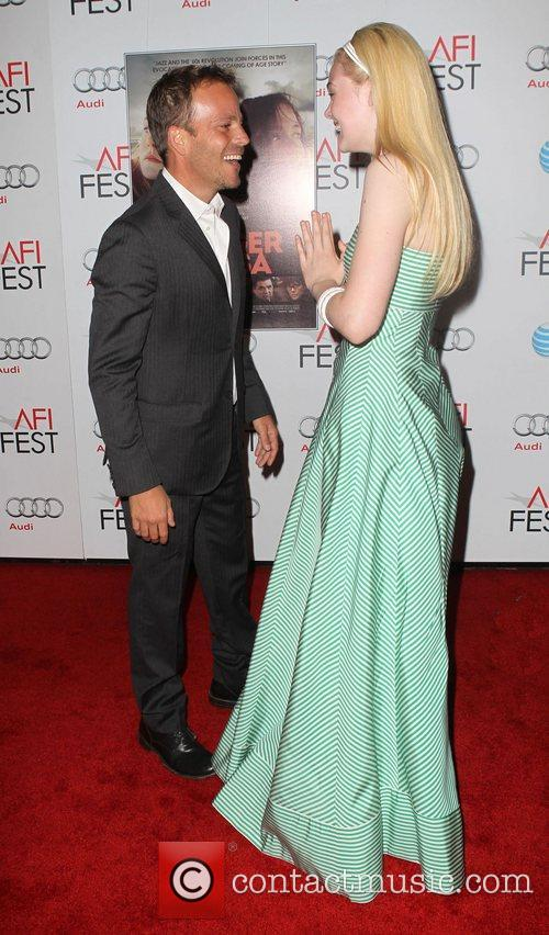 Stephen Dorff, Elle Fanning and Grauman's Chinese Theatre 1