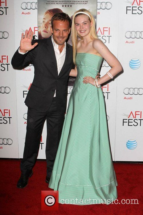 Stephen Dorff, Elle Fanning and Grauman's Chinese Theatre 2