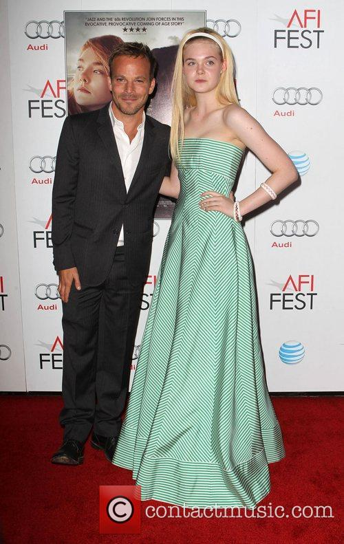 Stephen Dorff, Elle Fanning and Grauman's Chinese Theatre 3
