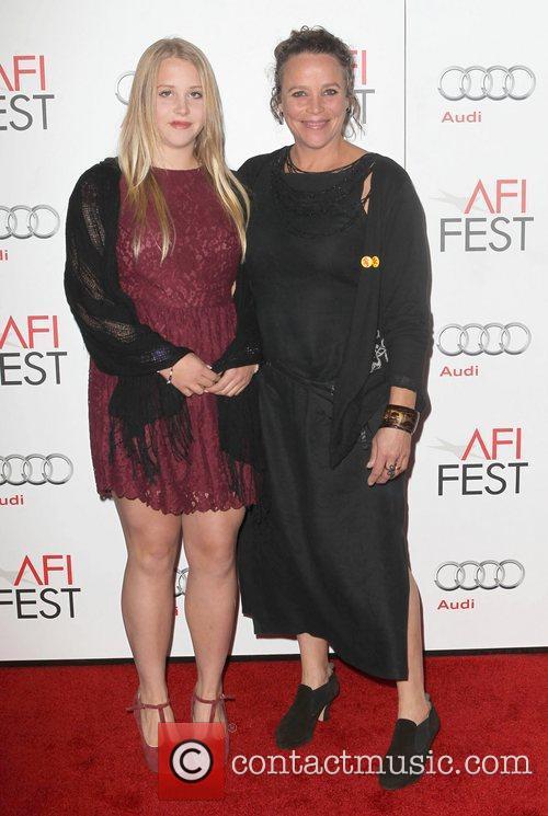 China Ahlander and daughter Anna Ahlander  attends...