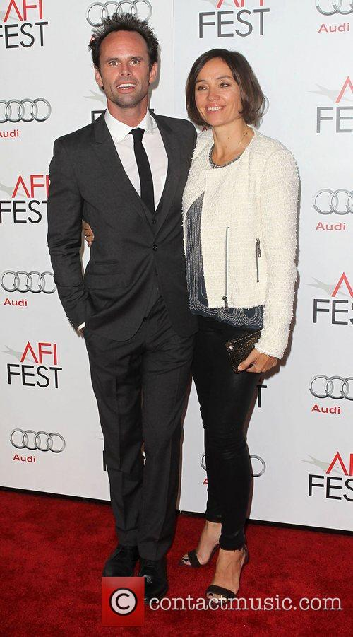 Walton Goggins, Nadia Conners and Grauman's Chinese Theatre 3