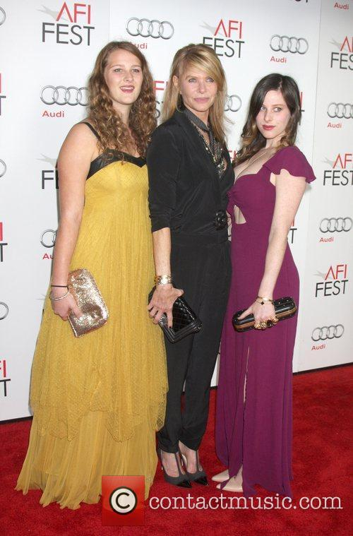 Destry Allyn Spielberg, Kate Capshaw and Sasha Spielberg 1