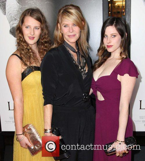 Destry Allyn Spielberg, Kate Capshaw, Sasha Spielberg and Grauman's Chinese Theatre 3