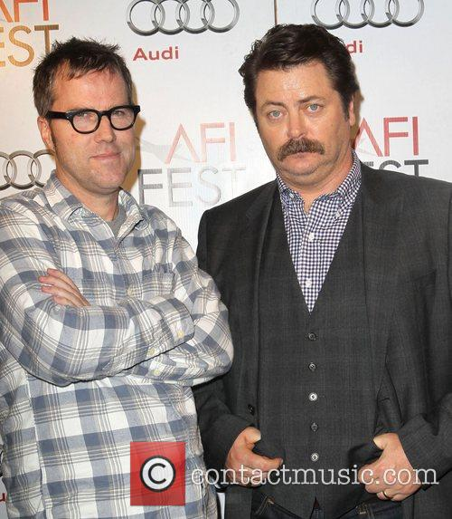 Bob Byington and Nick Offerman 2
