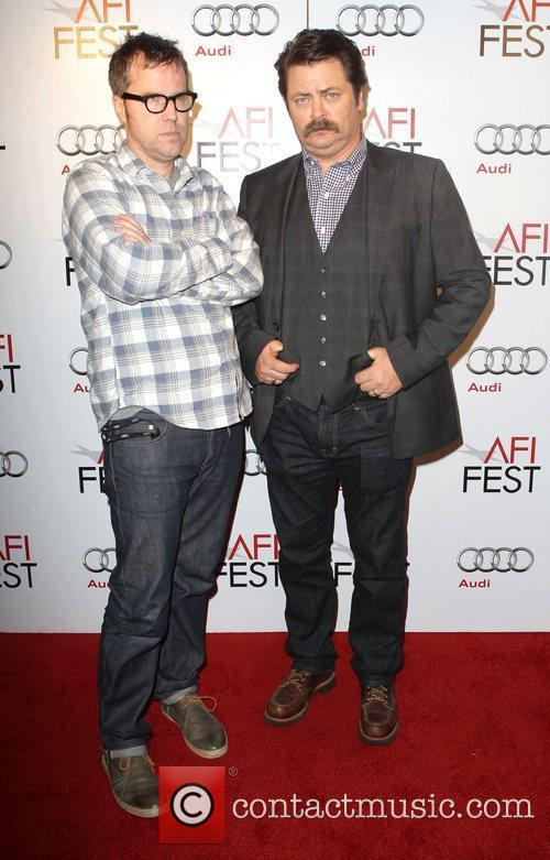 Bob Byington and Nick Offerman 1
