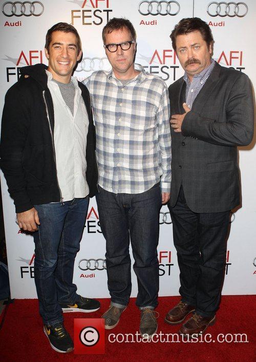 Jonathan Togo, Bob Byington and Nick Offerman 6