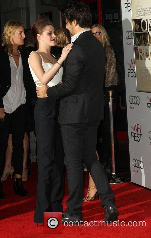 Kristen Stewart, Charles Gilbert  AFI Fest -...