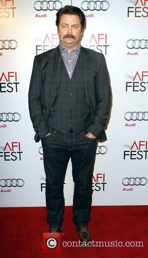 nick offerman afi fest on the 4160082