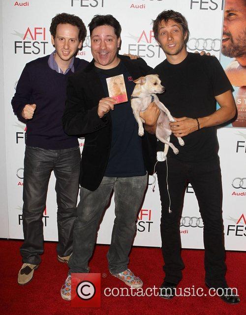 Josh Sussman, Sean Becker, Boonee, Chris Bergoch and Grauman's Chinese Theatre