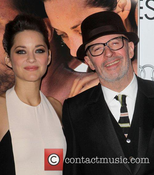 Marion Cotillard, Jacques Audiard and Grauman's Chinese Theatre 3