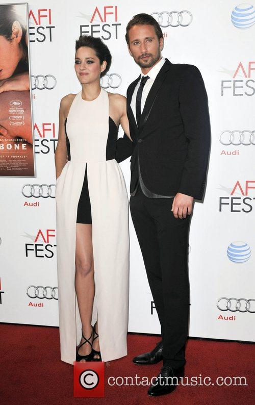 Mathias Schoenaerts, Marion Cotillard and Grauman's Chinese Theatre 5