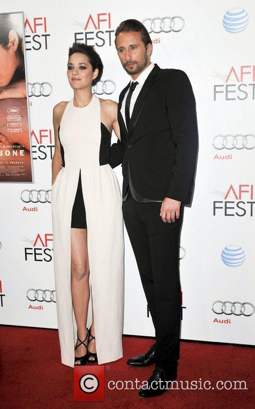 Mathias Schoenaerts, Marion Cotillard and Grauman's Chinese Theatre 3