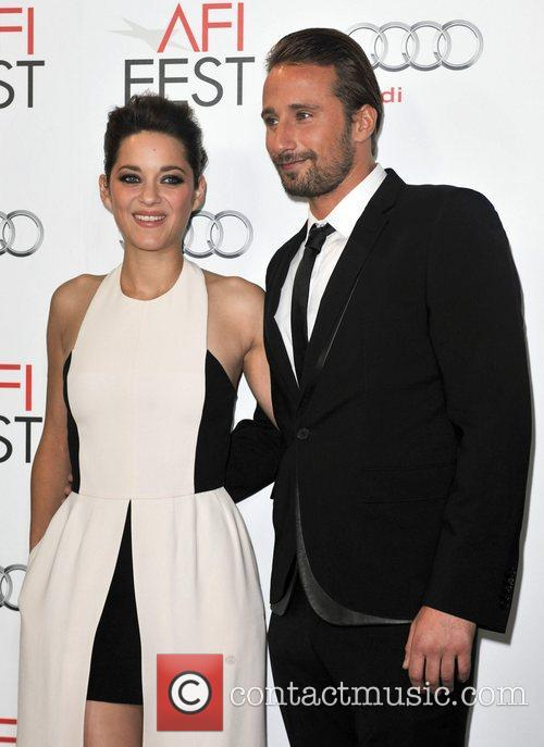 Mathias Schoenaerts, Marion Cotillard and Grauman's Chinese Theatre 2