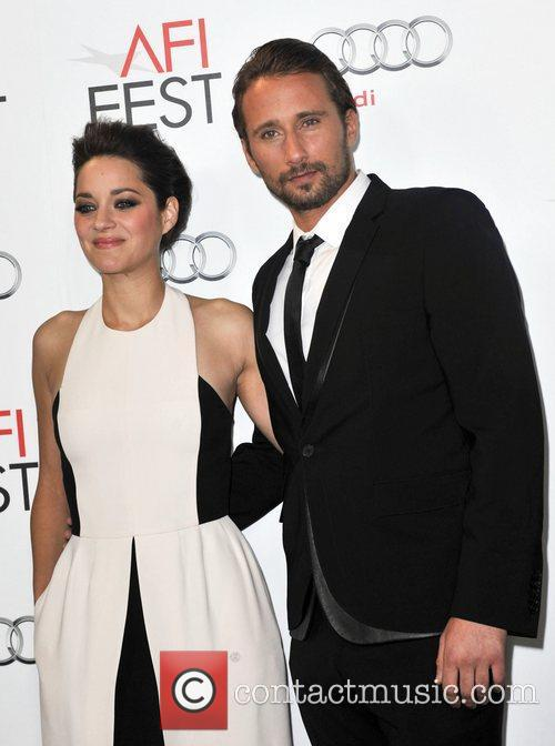 Mathias Schoenaerts, Marion Cotillard and Grauman's Chinese Theatre 1
