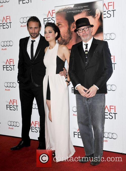 Mathias Schoenaerts, Marion Cotillard, Jacques Audiard and Grauman's Chinese Theatre 6