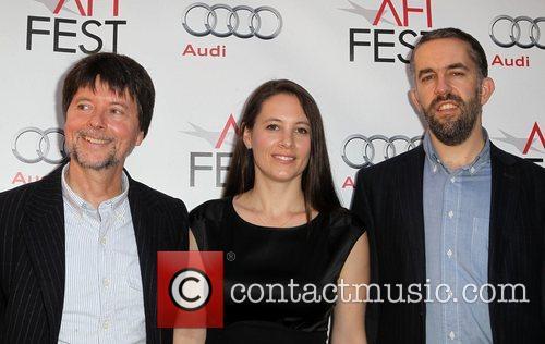 Ken Burns, Sarah Burns, David McMahon AFI Fest...