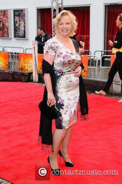 Deborah Meaden UK Premiere of 'African Cats' in...
