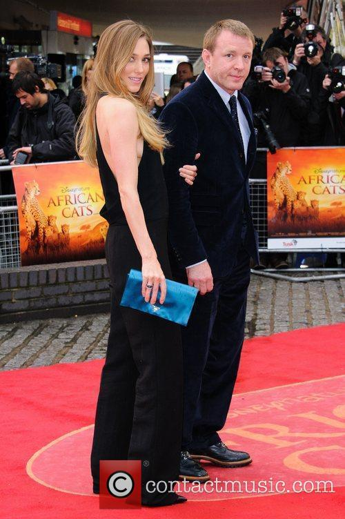 Jacqui Ainsley and Guy Ritchie UK Premiere of...