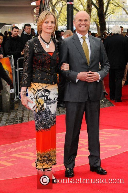 Sion King UK Premiere of 'African Cats' in...