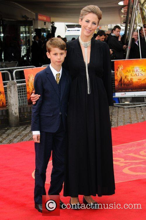 Sophie Darlington UK Premiere of 'African Cats' in...