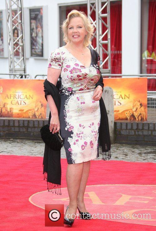 Deborah Meaden African Cats UK film premiere held...