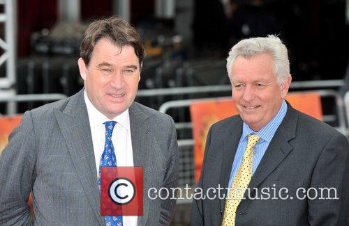 Alastair Fothergill (L) and Keith Scholey (R) African...