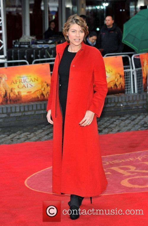 kate silverton african cats uk film premiere 5831525
