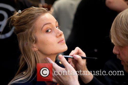 Model  Australian Fashion Week - Fall/Winter 2012...