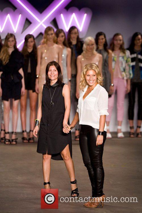 Somer Watson and Liberty Watson Australian Fashion Week...