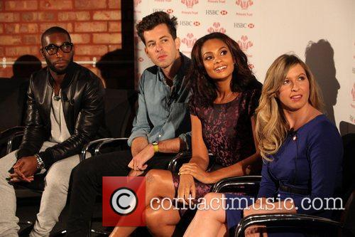 Tinie Tempah, Mark Ronson, Alesha Dixon and Brooke...
