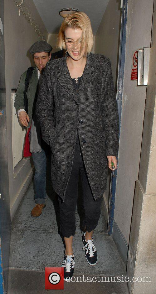 agyness deyn leaving trafalgar studios london england   120312 3776062